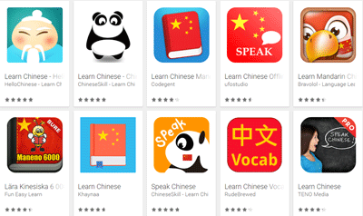 hundreds of free chinese lessons on android