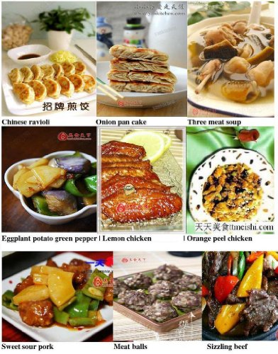 Most Common Chinese Take Out Food