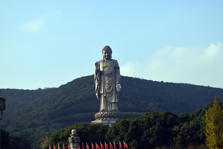 Lingshan Buddha, the biggest buddha staty in the world