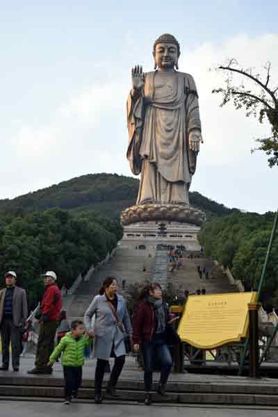 灵山是一个美丽的地方,你会看到当你访问无锡
